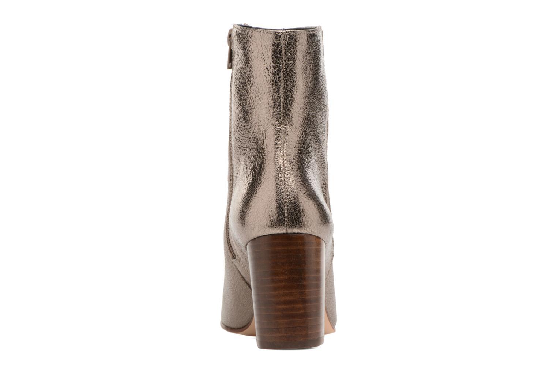 Bottines et boots Anaki Lux Or et bronze vue droite