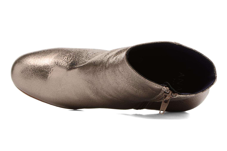 Bottines et boots Anaki Lux Or et bronze vue gauche