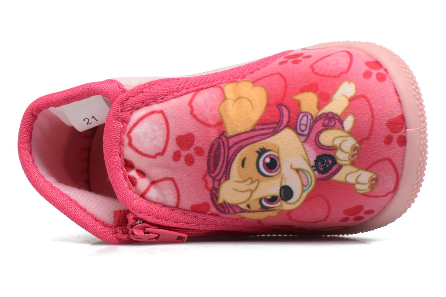 Slippers Pat Patrouille Sita Pink view from the left