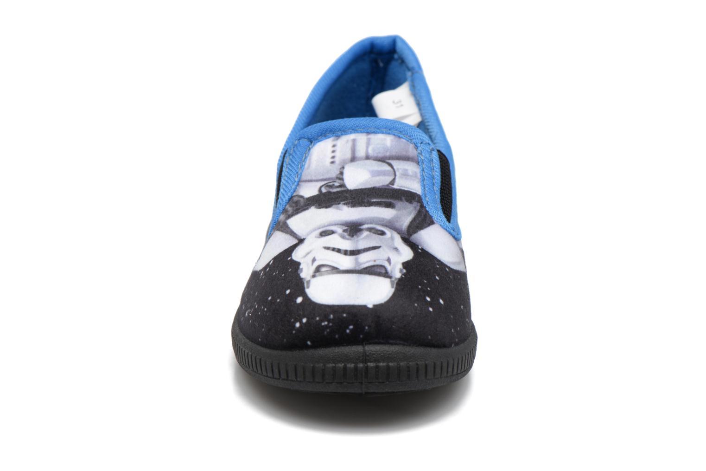 Chaussons Star Wars Sauvage Bleu vue portées chaussures