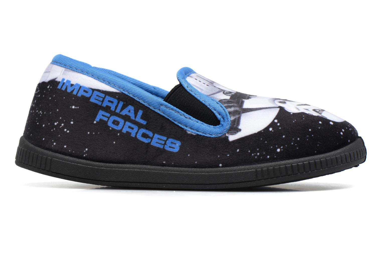 Chaussons Star Wars Sauvage Bleu vue derrière