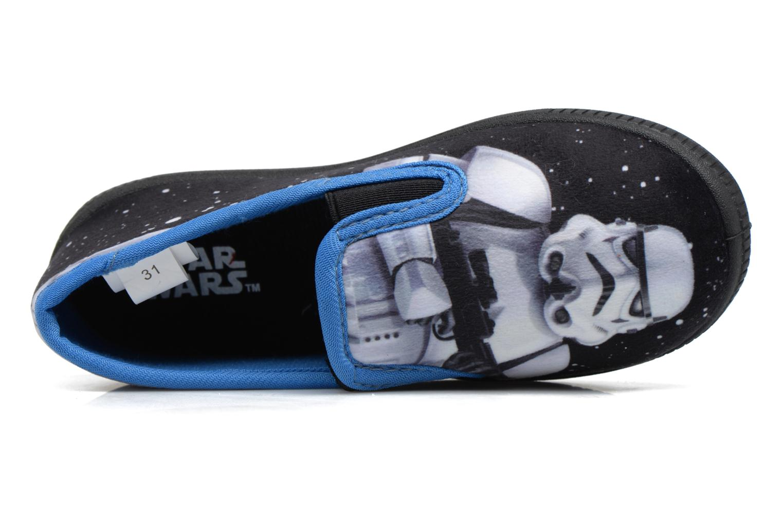 Chaussons Star Wars Sauvage Bleu vue gauche