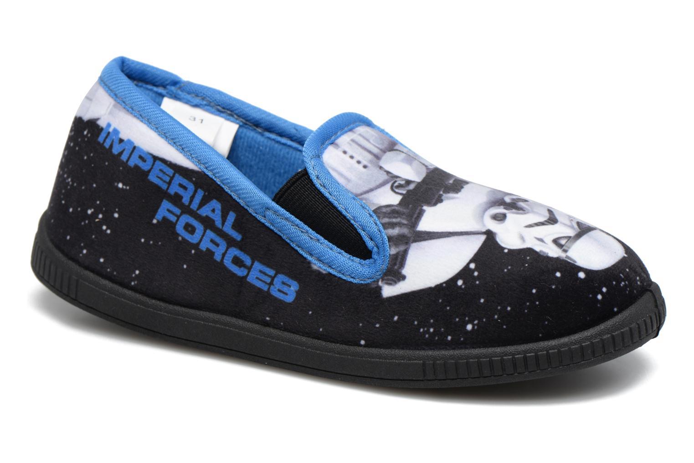 Chaussons Star Wars Sauvage Bleu vue détail/paire