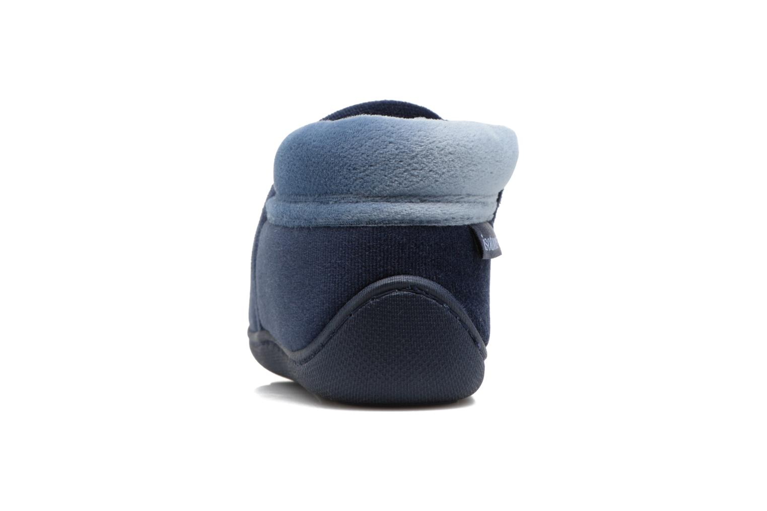 Botillon Zip Polyvelours Bleu
