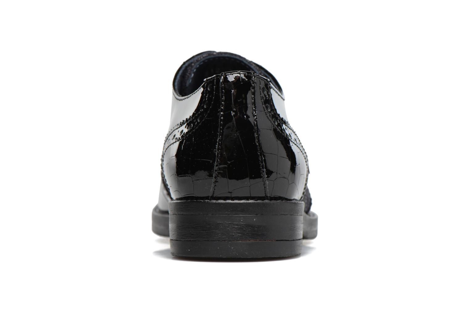Lace-up shoes Georgia Rose Nirvane Black view from the right