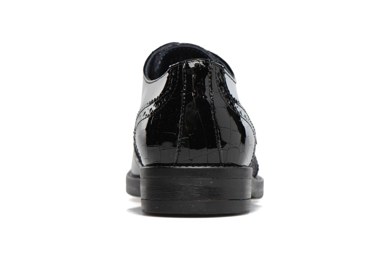 Zapatos con cordones Georgia Rose Nirvane Negro vista lateral derecha