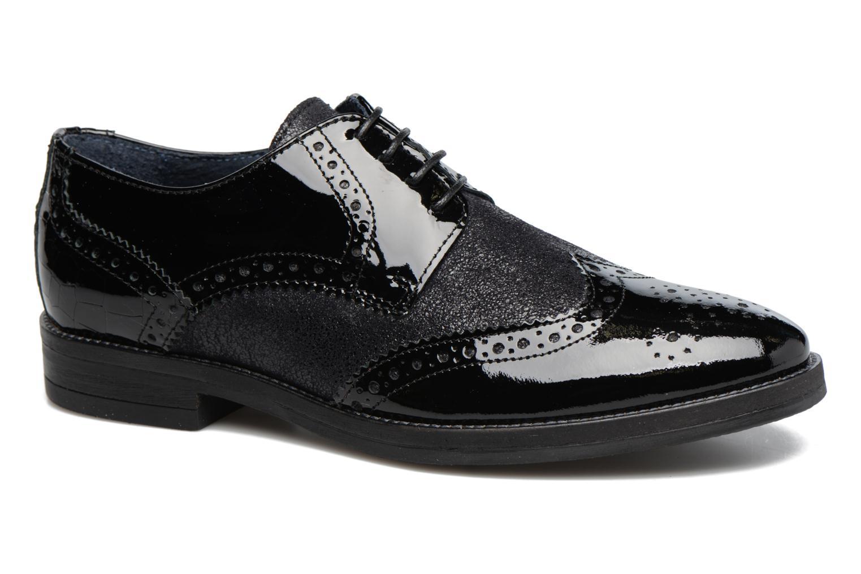 Zapatos con cordones Georgia Rose Nirvane Negro vista de detalle / par