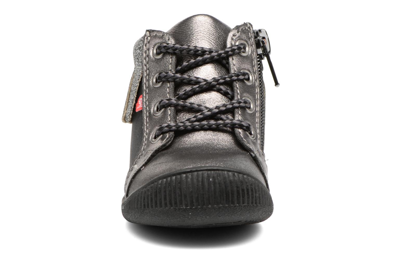 Boots en enkellaarsjes NA! Arina Zilver model