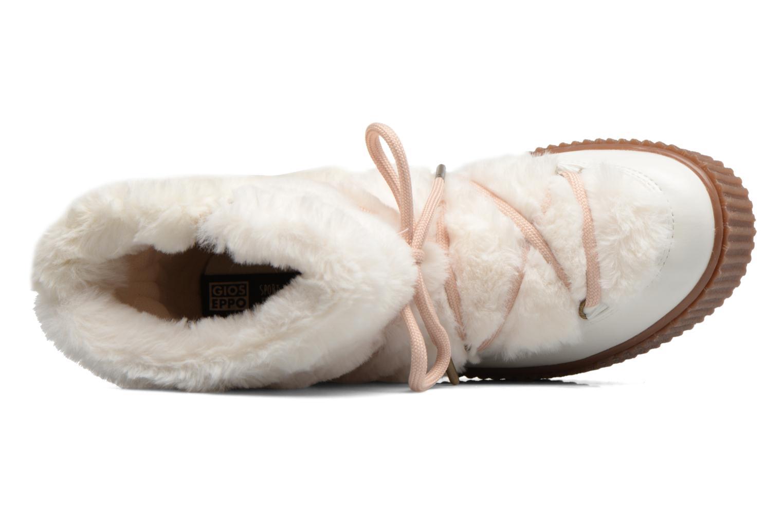 Bottes Gioseppo Doulla Blanc vue gauche