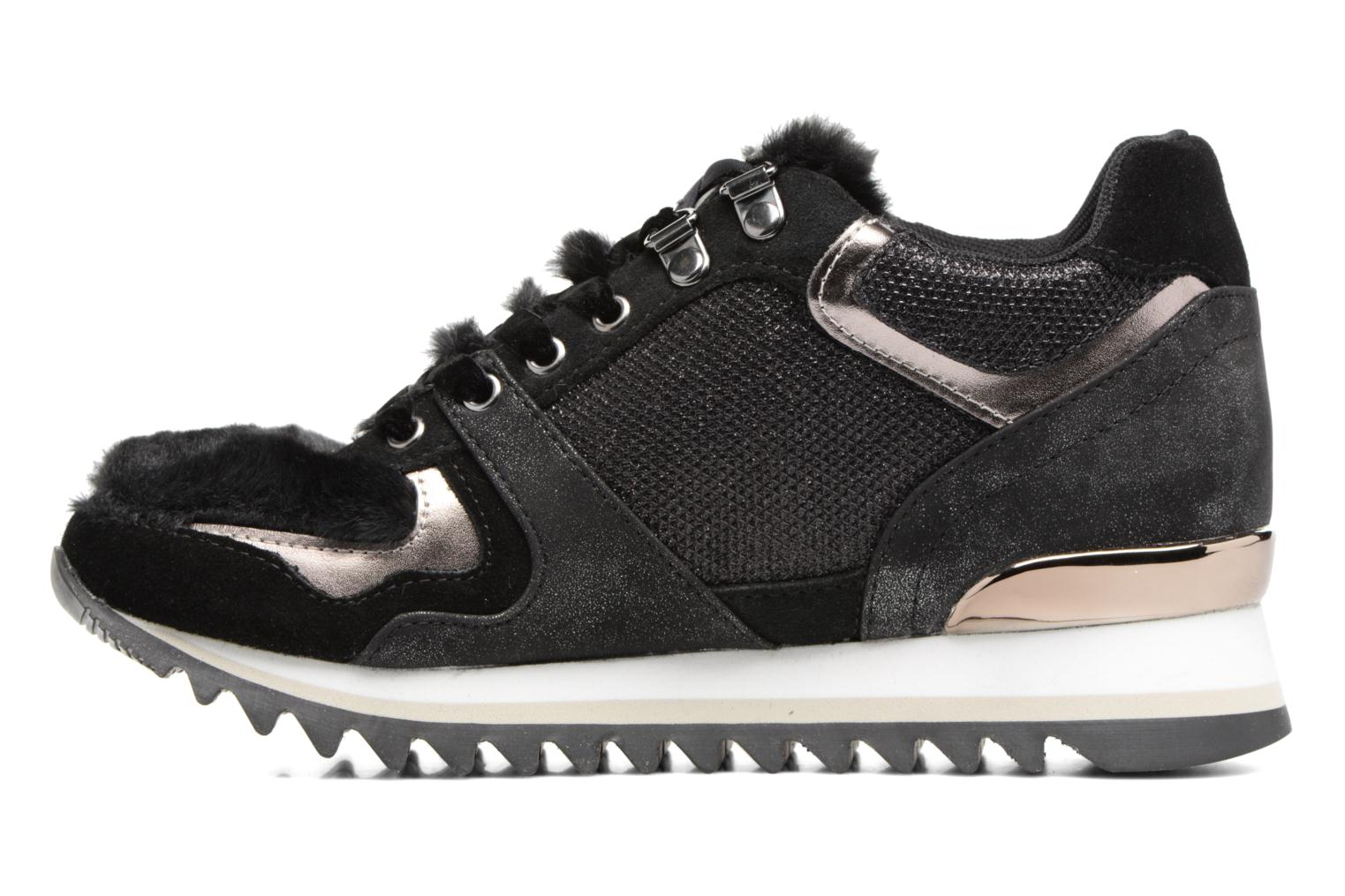 Trainers Gioseppo Popla Black front view