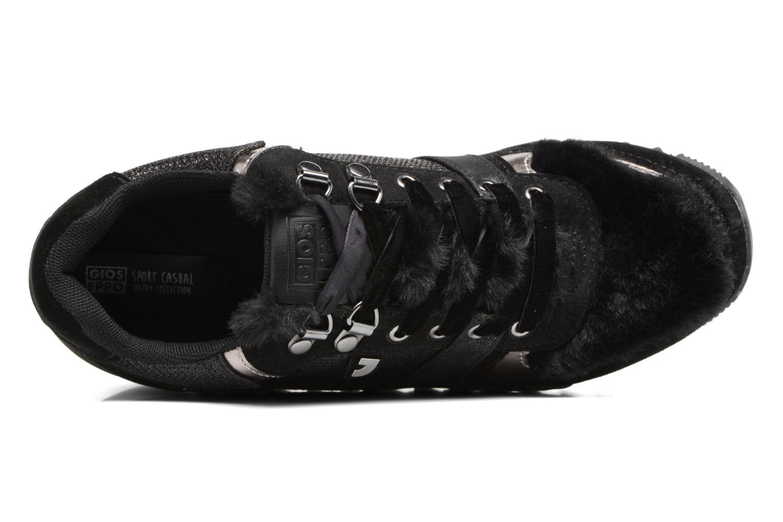 Sneakers Gioseppo Popla Zwart links