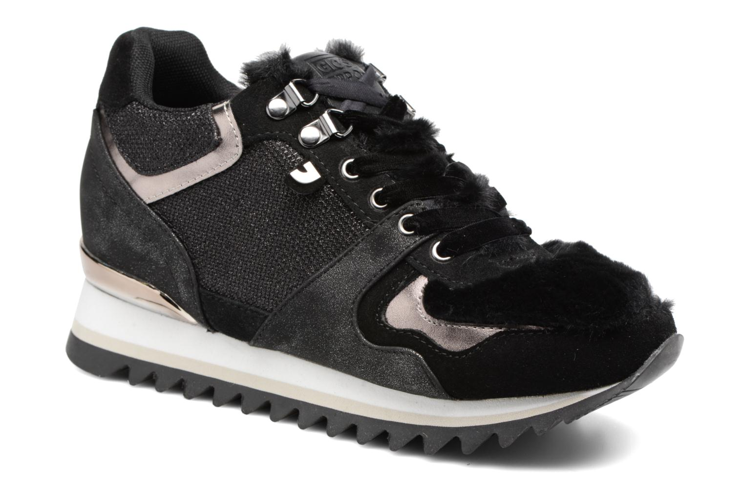 Trainers Gioseppo Popla Black detailed view/ Pair view