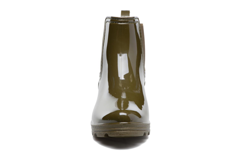 Botines  Gioseppo Emie Verde vista del modelo