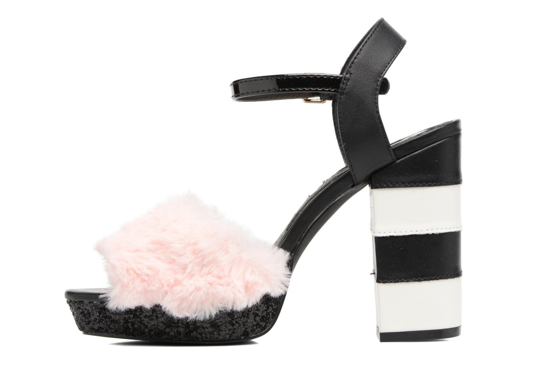 Sandales et nu-pieds Gioseppo Islie pink Rose vue face