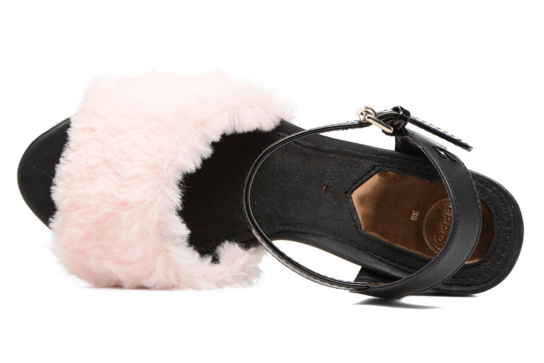 Sandales et nu-pieds Gioseppo Islie pink Rose vue gauche