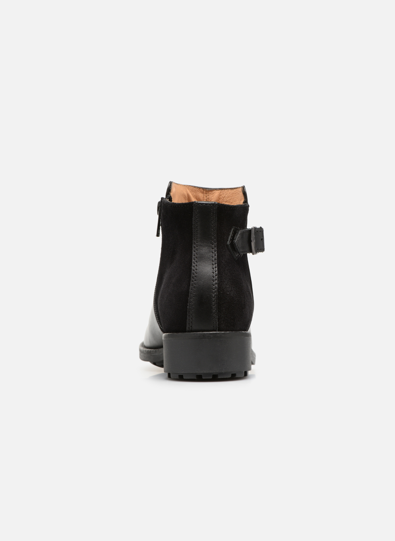 Bottines et boots Aigle Chante Low Noir vue droite