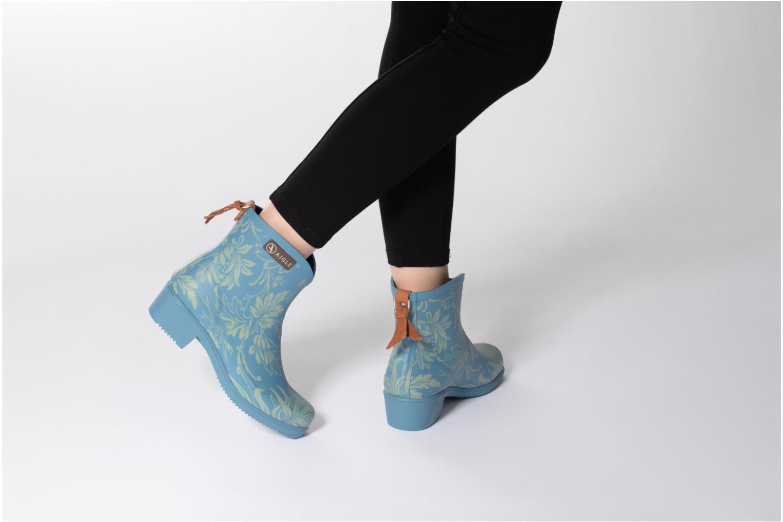 Bottines et boots Aigle Miss Juliette Botillon Or et bronze vue bas / vue portée sac
