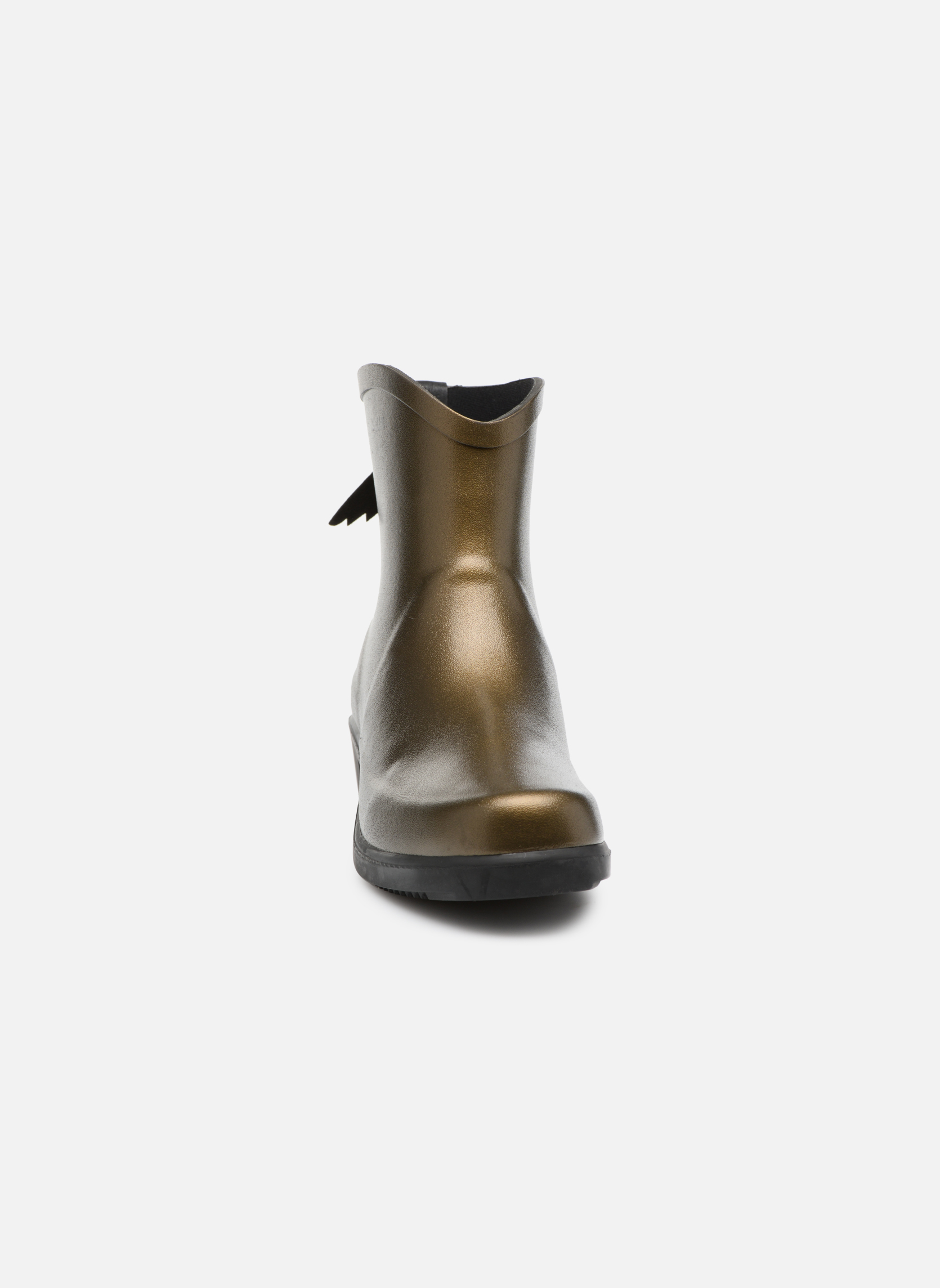 Bottines et boots Aigle Miss Juliette Botillon Or et bronze vue portées chaussures
