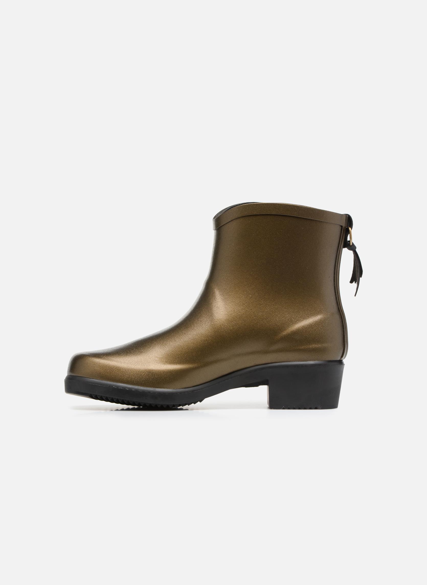 Bottines et boots Aigle Miss Juliette Botillon Or et bronze vue face