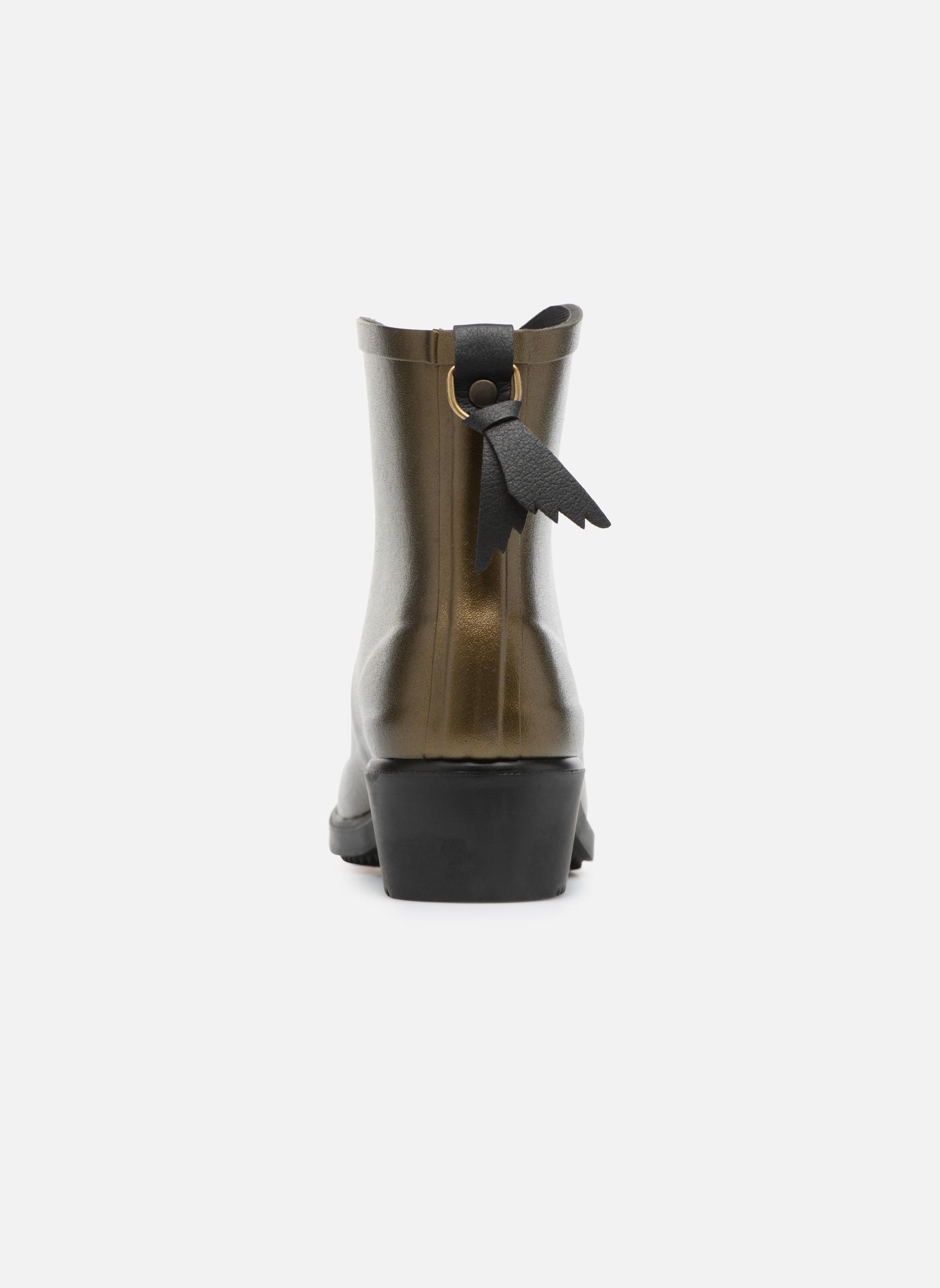 Bottines et boots Aigle Miss Juliette Botillon Or et bronze vue droite