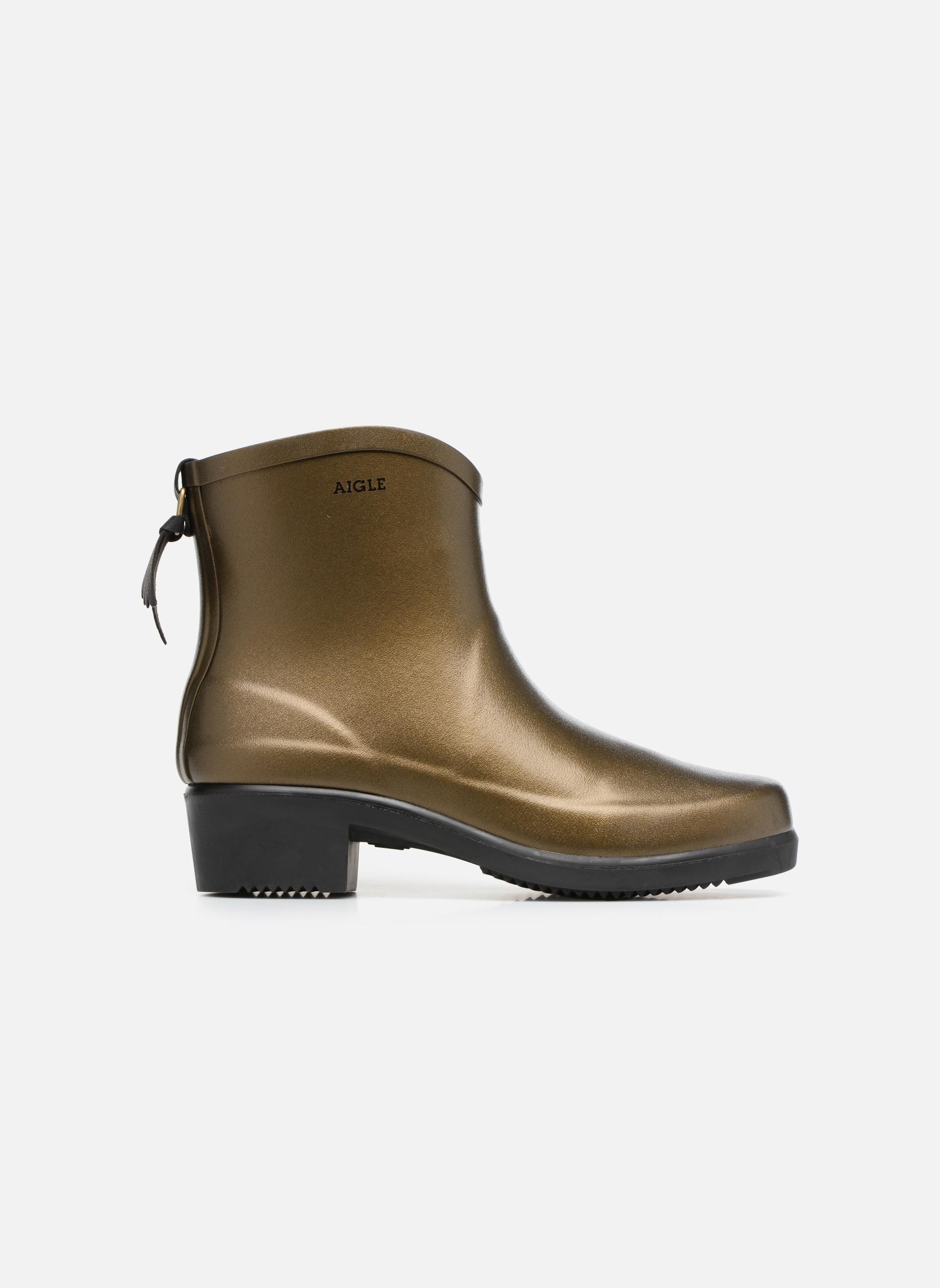 Bottines et boots Aigle Miss Juliette Botillon Or et bronze vue derrière