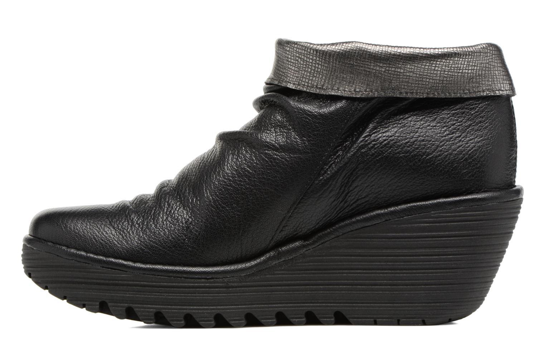Bottines et boots Fly London YOXI Noir vue face