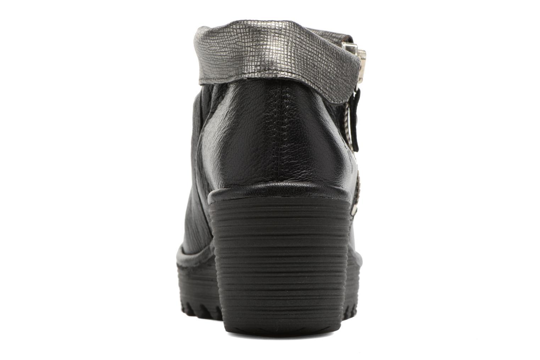 Bottines et boots Fly London YOXI Noir vue droite