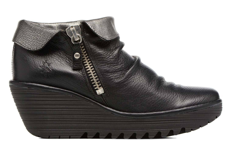 Bottines et boots Fly London YOXI Noir vue derrière