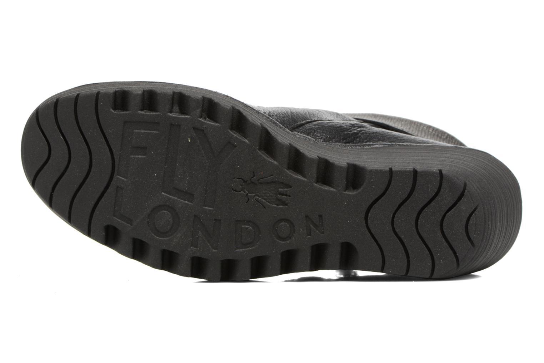 Bottines et boots Fly London YOXI Noir vue haut