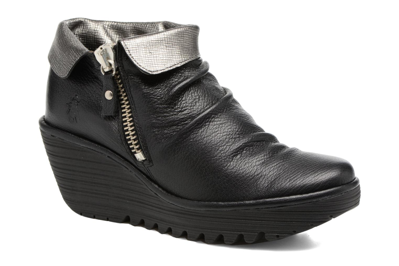 Bottines et boots Fly London YOXI Noir vue détail/paire