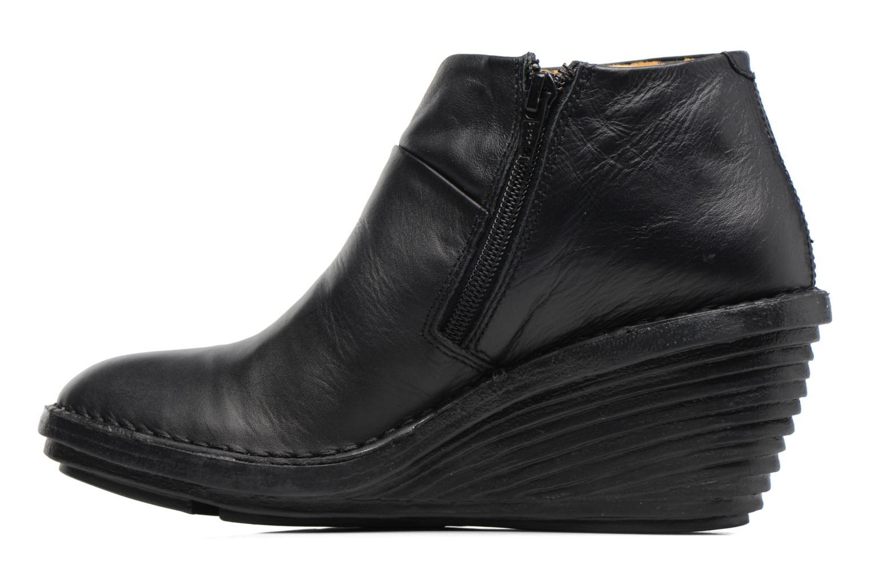 Bottines et boots Fly London SIPI Noir vue face