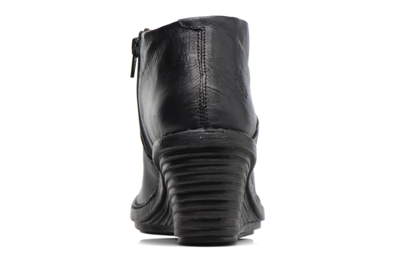 Bottines et boots Fly London SIPI Noir vue droite