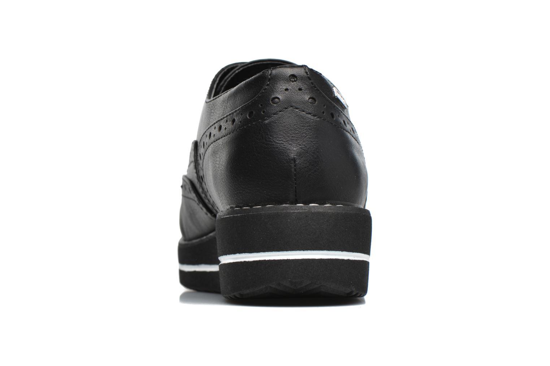 Chaussures à lacets MTNG Muestra Noir vue droite