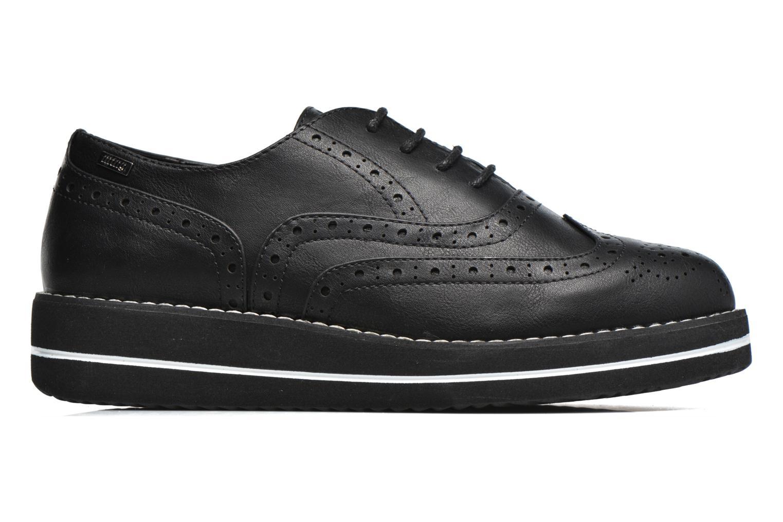 Chaussures à lacets MTNG Muestra Noir vue derrière