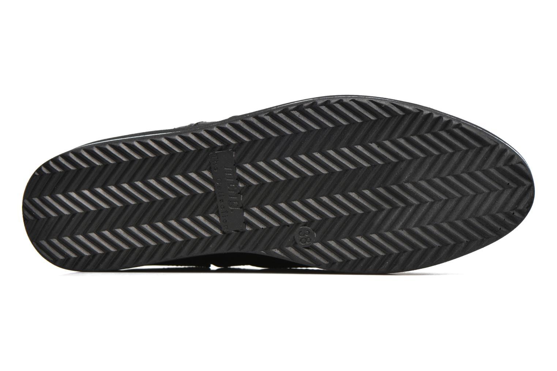 Chaussures à lacets MTNG Muestra Noir vue haut