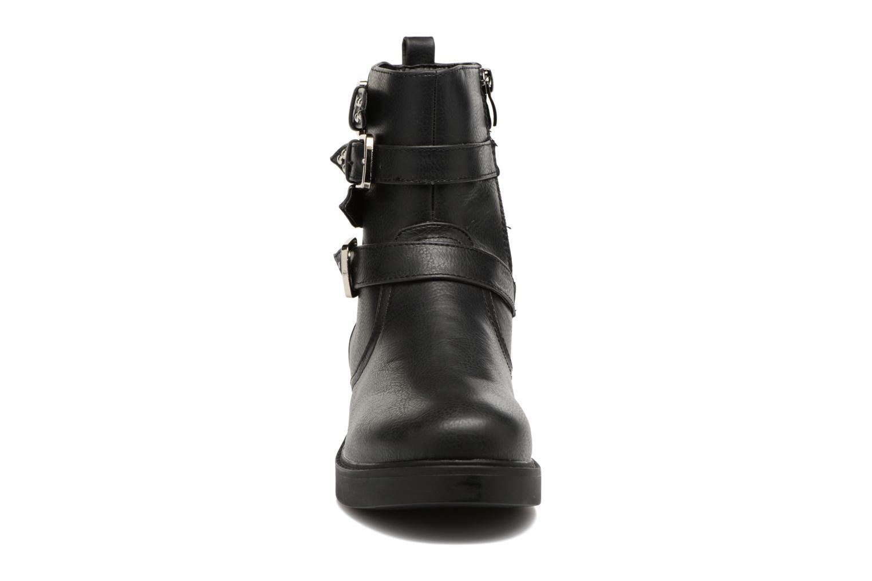 Bottines et boots MTNG Gilda Noir vue portées chaussures