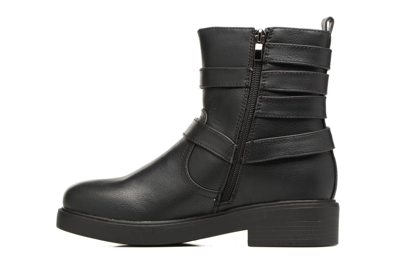 Bottines et boots MTNG Gilda Noir vue face