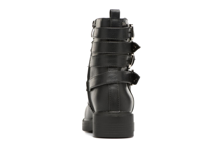 Bottines et boots MTNG Gilda Noir vue droite