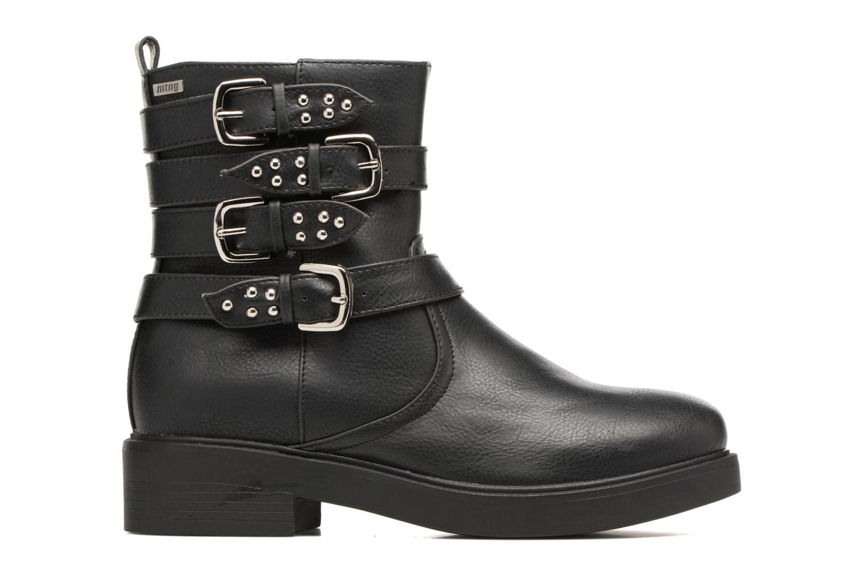 Bottines et boots MTNG Gilda Noir vue derrière