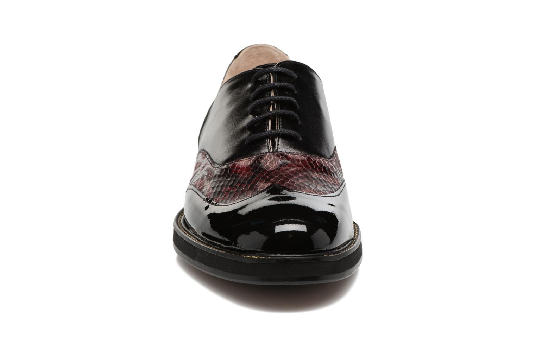 Chaussures à lacets MAURICE manufacture Jill Bordeaux vue portées chaussures