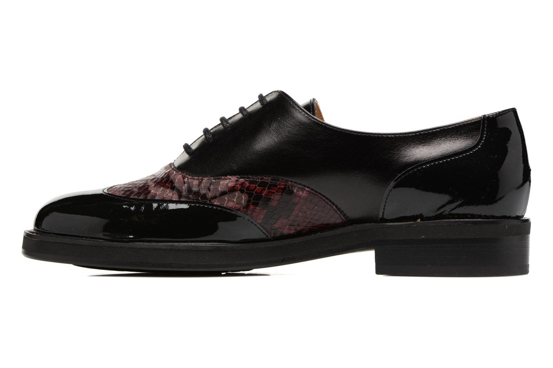 Chaussures à lacets MAURICE manufacture Jill Bordeaux vue face