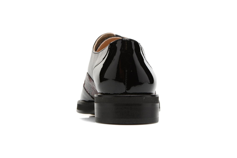 Chaussures à lacets MAURICE manufacture Jill Bordeaux vue droite