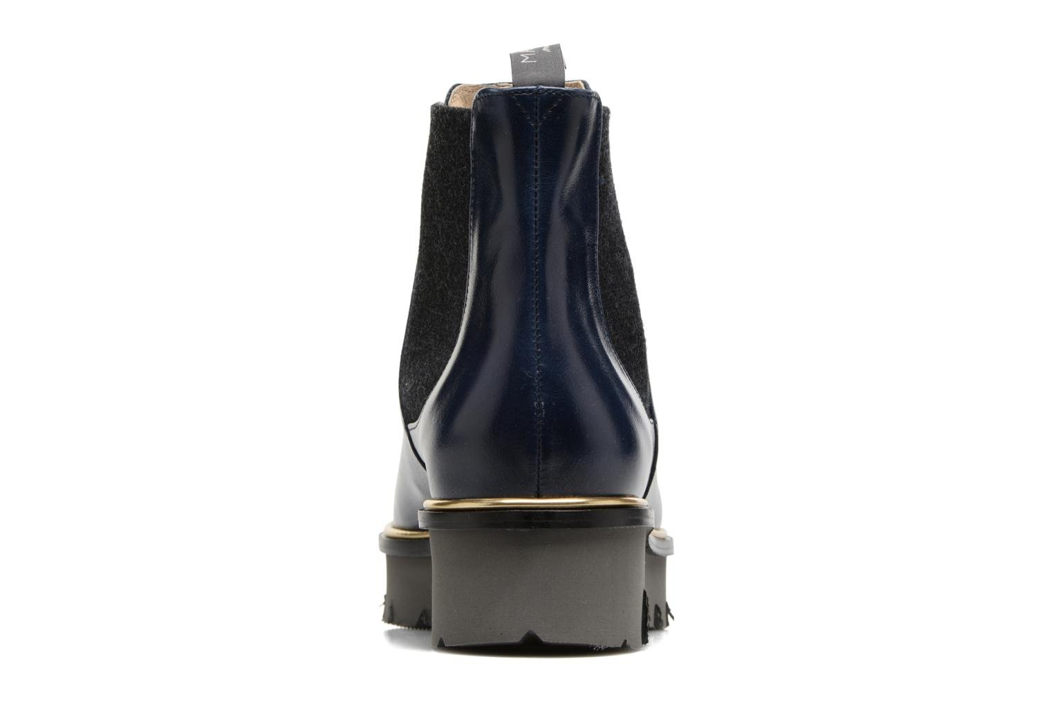Bottines et boots MAURICE manufacture Charly Bleu vue droite