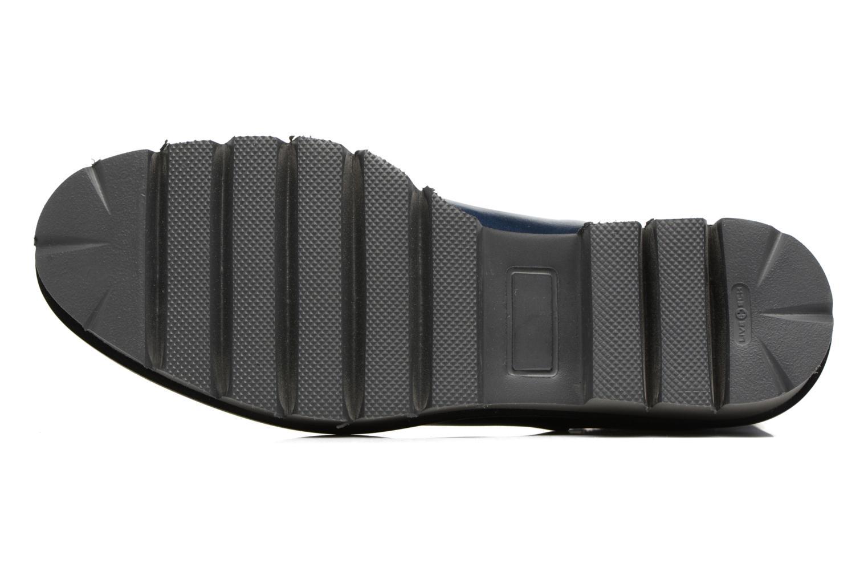 Bottines et boots MAURICE manufacture Charly Bleu vue haut
