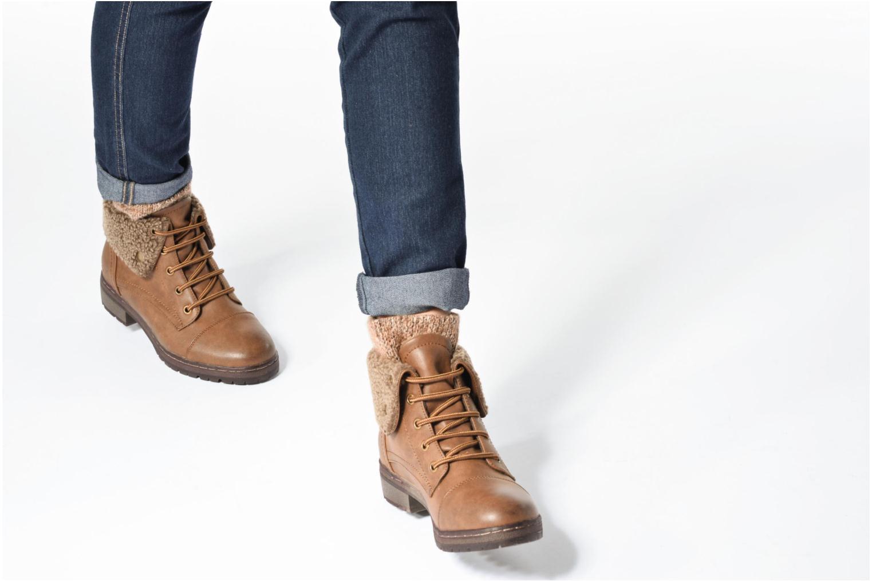 Bottines et boots Coolway Bring 2 Marron vue bas / vue portée sac