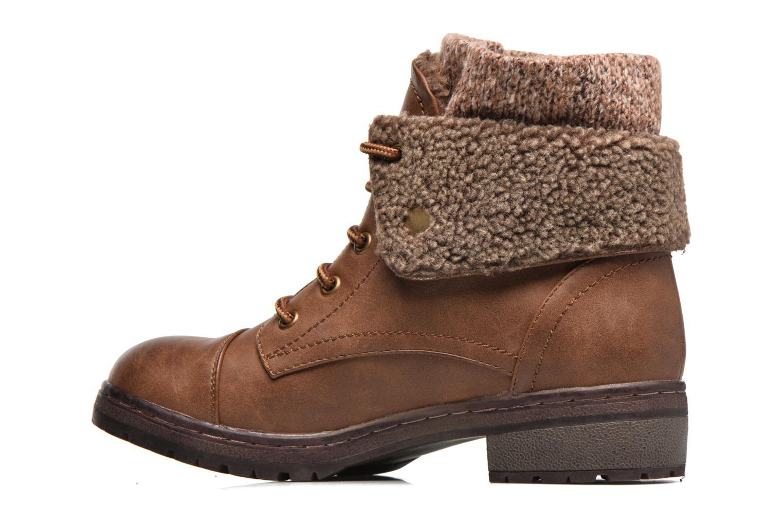 Bottines et boots Coolway Bring 2 Marron vue face