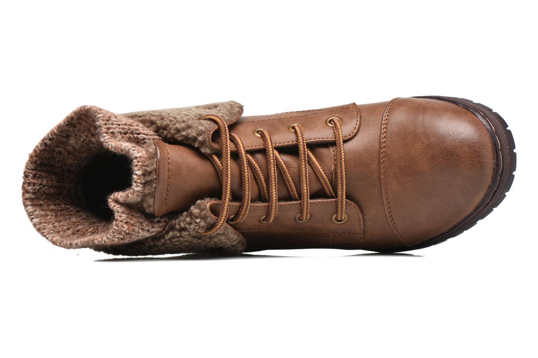 Bottines et boots Coolway Bring 2 Marron vue gauche