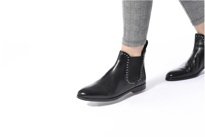 Bottines et boots Melvin & Hamilton Susane 37/R Noir vue bas / vue portée sac