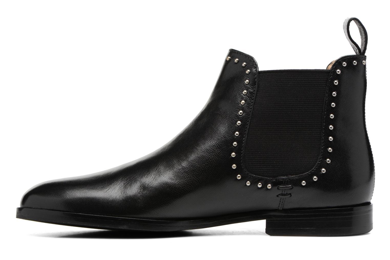 Bottines et boots Melvin & Hamilton Susane 37/R Noir vue face
