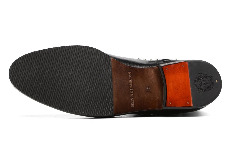 Bottines et boots Melvin & Hamilton Susane 37/R Noir vue haut